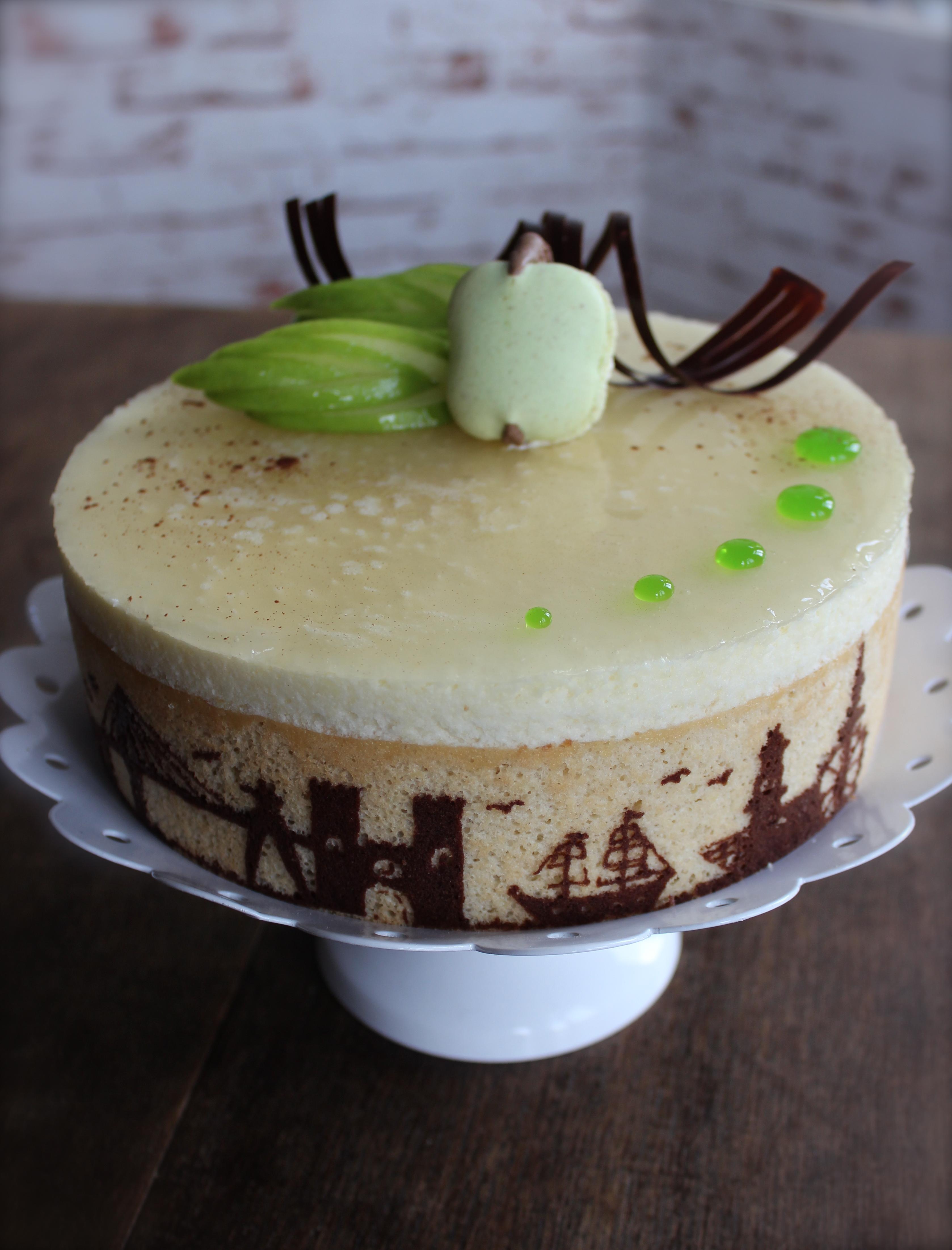 """Apfel-Mousse-Torte """"Hamburg"""""""
